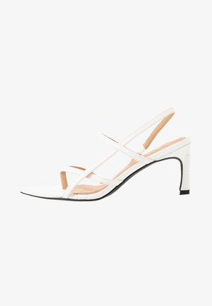 POINTY SOLE TOE STRAP  - Sandales - offwhite
