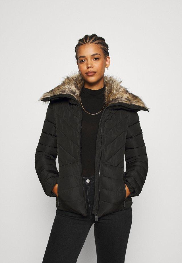 ARCTIC GLAZE JACKET - Lehká bunda - black