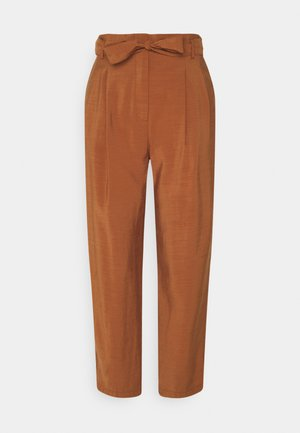 LEBOUCLE - Trousers - caramel