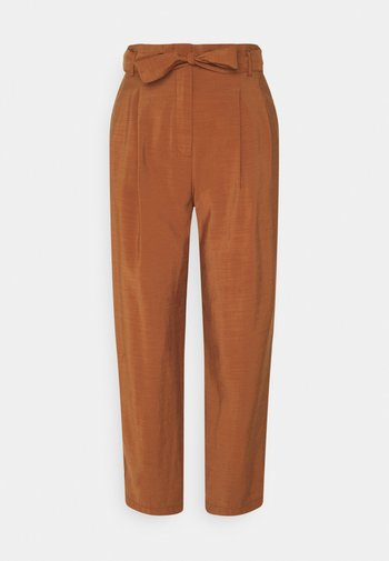 LEBOUCLE - Trousers - caramel