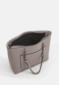 Dorothy Perkins - SLIP POCKET CHAIN HANDLE SHOPPER - Tote bag - dark grey - 2