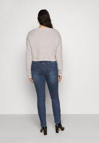 JUNAROSE - by VERO MODA - JRONEABBELINE - Slim fit jeans - dark blue denim - 2