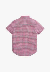 Next - RED/NAVY/WHITE SHORT SLEEVE GINGHAM OXFORD SHIRT (3-16YRS) - Camicia - red - 1