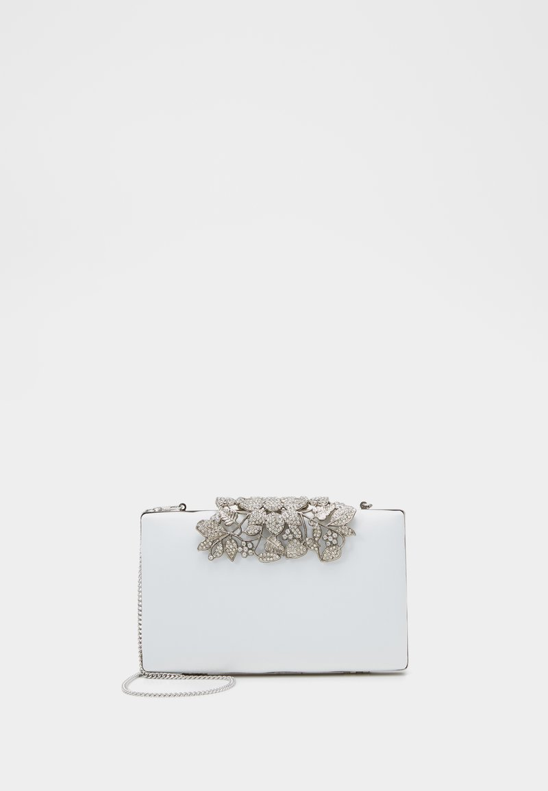 Forever New - Clutch - ivory/clear/silver