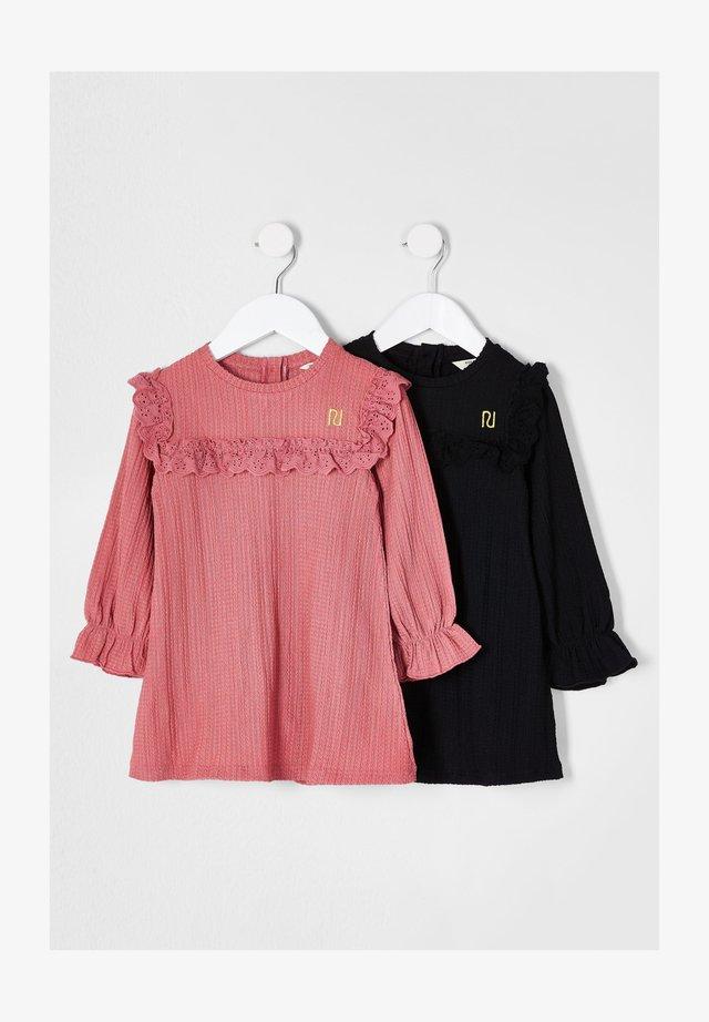 2 PACK - Korte jurk - pink