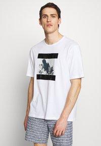 N°21 - Print T-shirt - white - 0