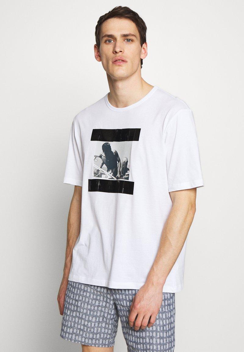 N°21 - Print T-shirt - white