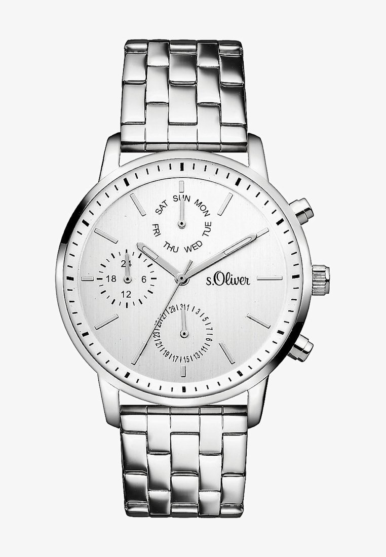 s.Oliver - Watch - silver-coloured