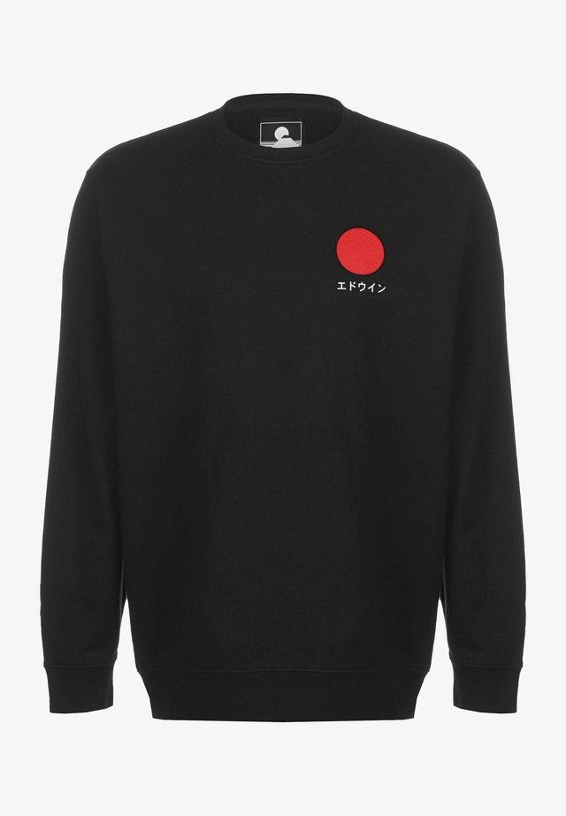 SUN - Sweatshirt - black garment washed