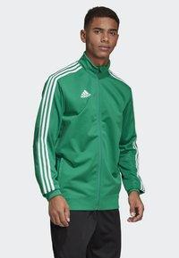 adidas Performance - TIRO 19 CLIMALITE TRACKSUIT - Training jacket - green - 3