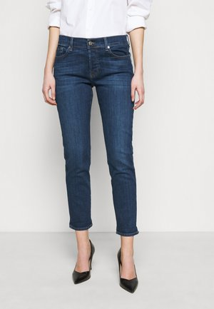 ASHER SOHO - Slim fit jeans - dark blue