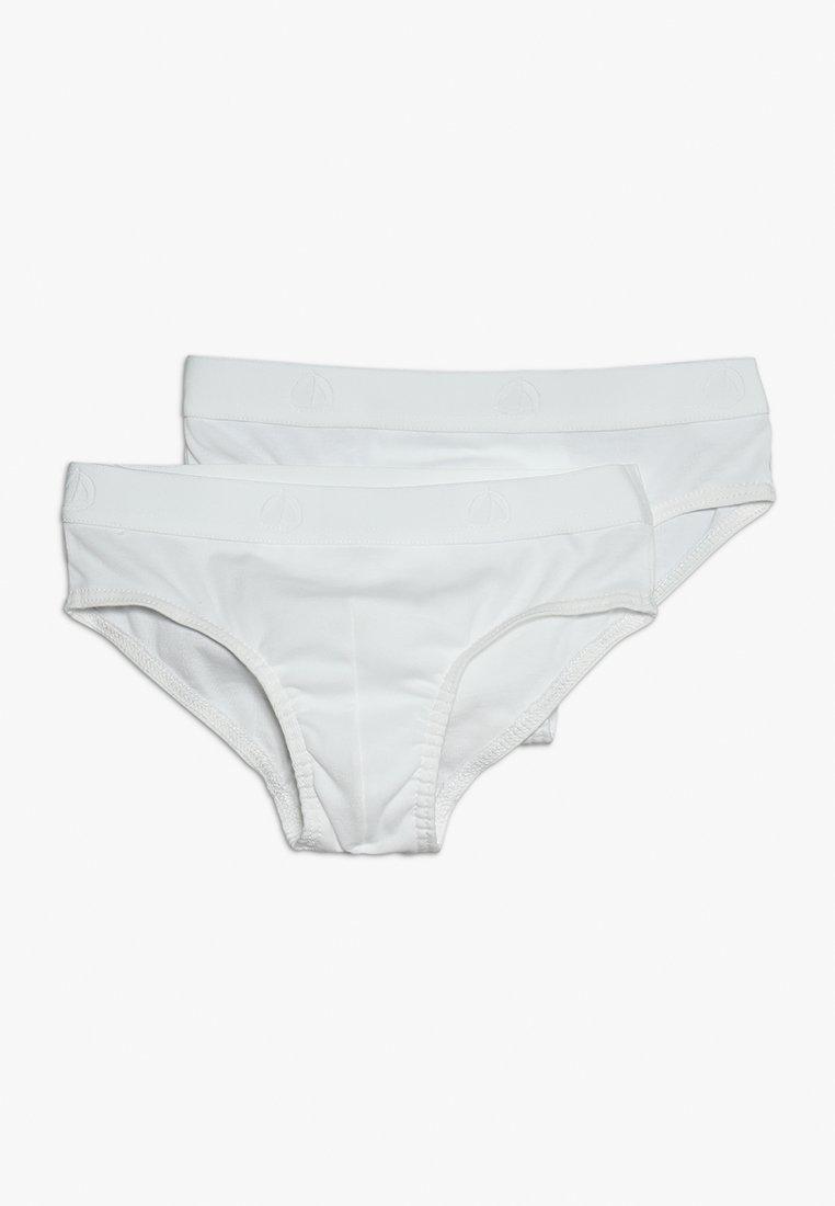 Petit Bateau - LOT 2 PACK - Slip - white