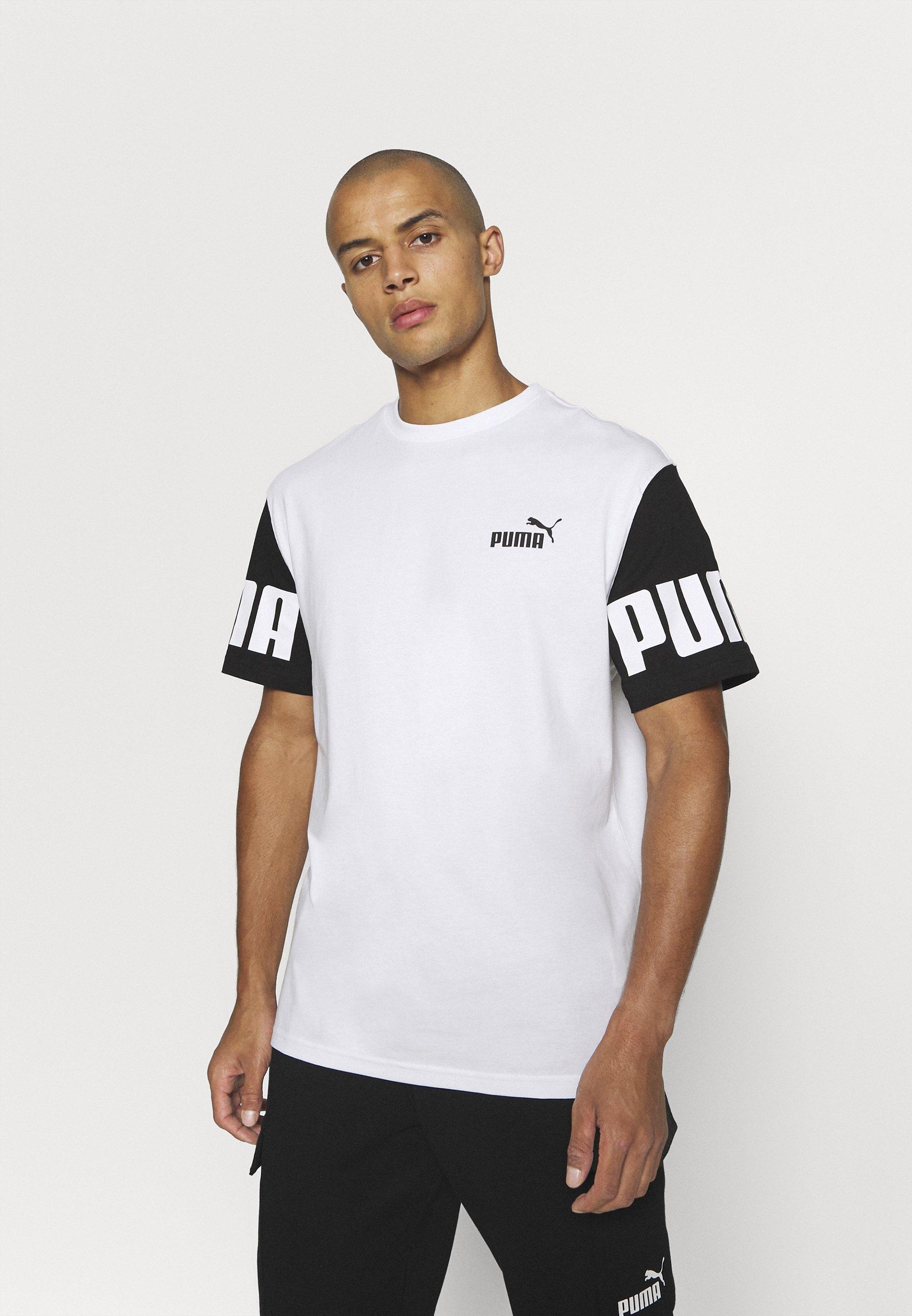 Uomo POWER COLORBLOCK TEE - T-shirt con stampa