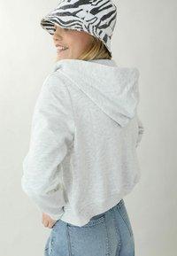 Pimkie - Zip-up hoodie - grau meliert - 2
