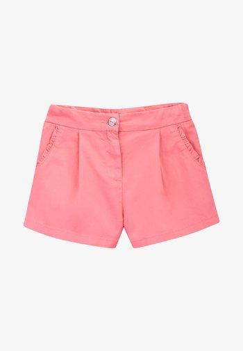 Shorts - burnt coral