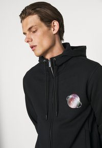 Emporio Armani - Zip-up sweatshirt - nero - 4