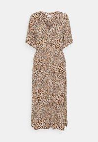 Noisy May - NMFIONA CALF DRESS - Shirt dress - sugar almond - 0