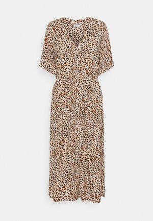 NMFIONA CALF DRESS - Shirt dress - sugar almond