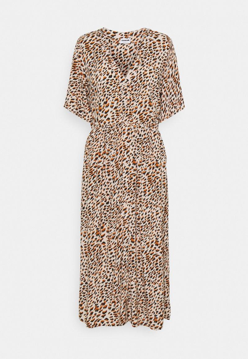 Noisy May - NMFIONA CALF DRESS - Shirt dress - sugar almond