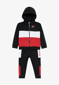 Nike Sportswear - AIR SET - Survêtement - black/university red - 4