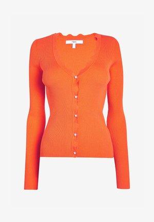 SCALLOP - Cardigan - orange