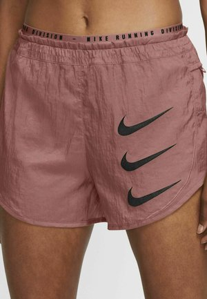 2-IN-1 - Sports shorts - rust pink/rust pink/black