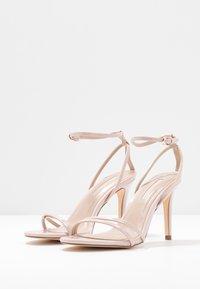 Miss Selfridge - SECRET SKINNY STRAPPY - Sandaler med høye hæler - nude - 4
