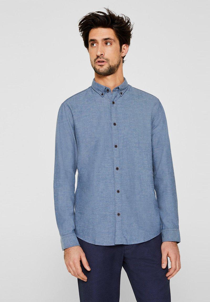 Esprit - MIT THERMOLITE® - Hemd - blue