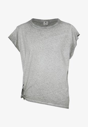 GYRE KNOT CAP - Print T-shirt - grey