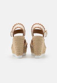 See by Chloé - GLYN - Korkeakorkoiset sandaalit - natural - 3
