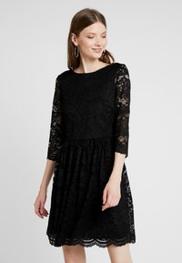 Vero Moda - VMALVIA SHORT DRESS - Cocktail dress / Party dress - black - 0