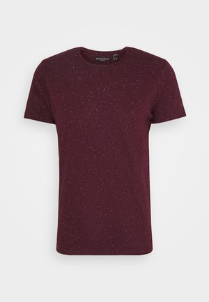 NEPP - T-shirts basic - burgundy