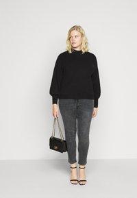 Pieces Curve - PCLILI  - Jeans slim fit - medium-grey denim - 1