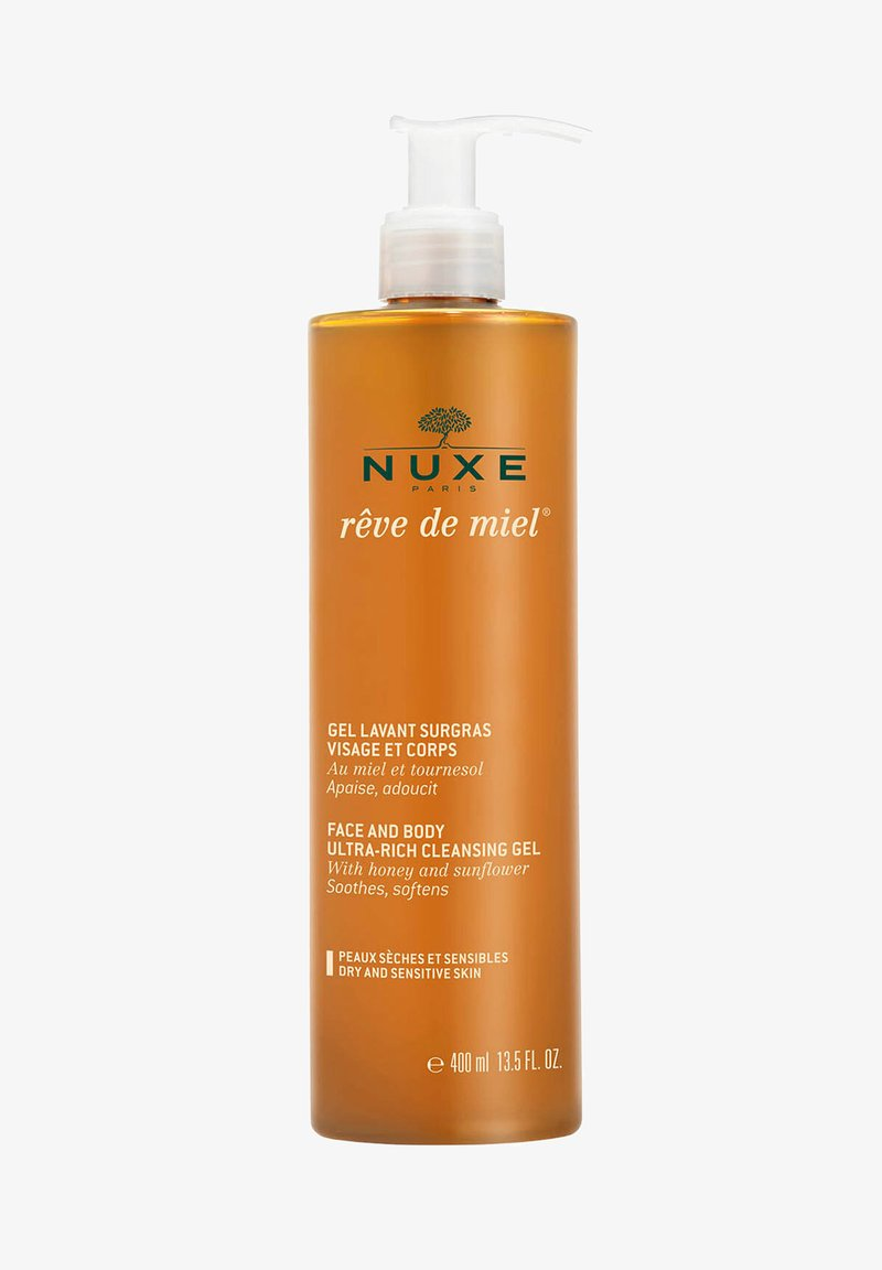 NUXE - RÊVE DE MIEL FACE AND BODY ULTRA-RICH CLEANSING GEL DRY AND SENS - Cleanser - -