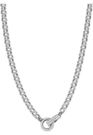 GUESS DAMEN-KETTE EDELSTAHL KRISTALL - Necklace - silber