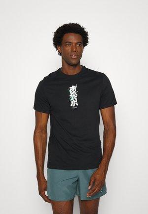 DRY TEE TOKYO - T-shirt imprimé - black