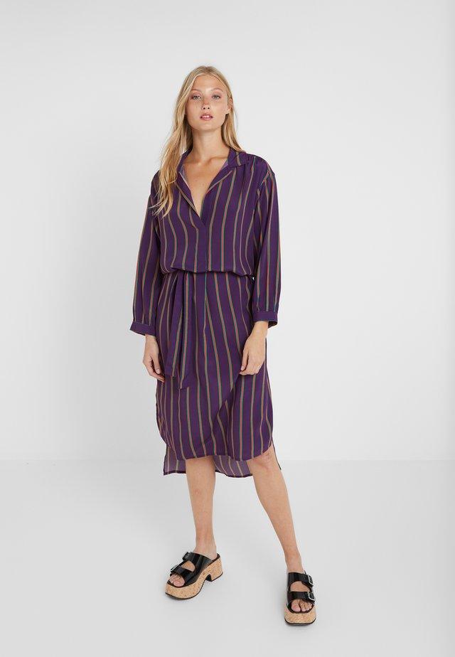 BATILDE - Day dress - amethyst