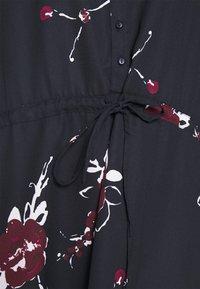 ONLY - ONLCORY V NECK TUNIC - Shirt dress - dark blue - 5