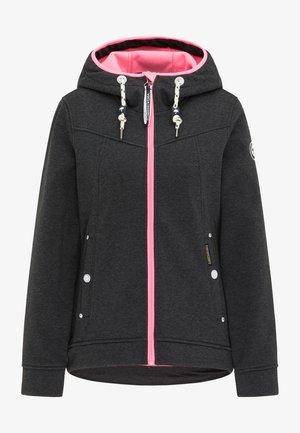 Training jacket - dunkelgrau melange
