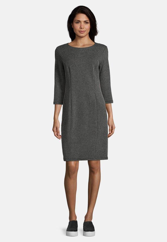 Korte jurk - schwarz/weiß