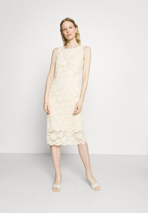 DRESS - Sukienka etui - cream beige