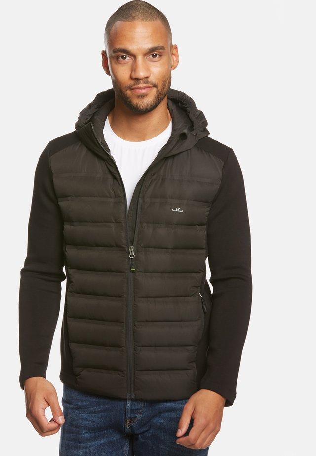 ENNO HYBRID - Gewatteerde jas - black
