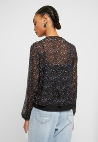 Hollister Co. - FASHION - Blouse - black mix - 2