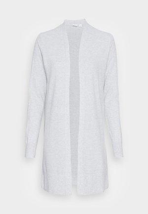V BELLA OPEN THIRD - Cardigan - light heather grey