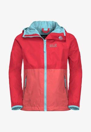 Waterproof jacket - tulip red