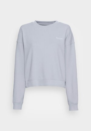 ROUND NECK MODERN COPPED FIT - Sweatshirt - grey horizon