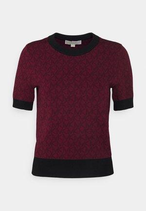 LOGO  - Camiseta estampada - dark ruby