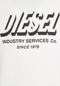 Diesel - S-GIRK-A74 UNISEX - Sweatshirt - off white - 2