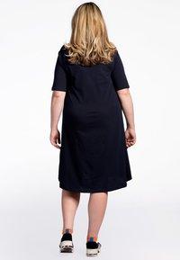 Yoek - Day dress - dark blue - 2