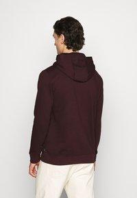Burton Menswear London - HOOD 2 PACK - Hoodie - bordeaux - 2